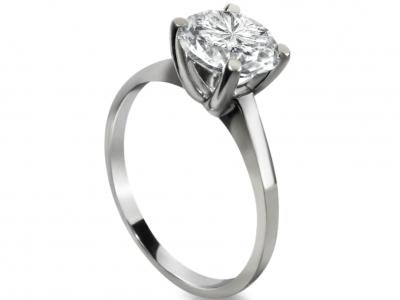 1 קארט יהלום בטבעת זהב