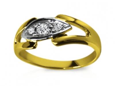טבעת יהלום לילדה