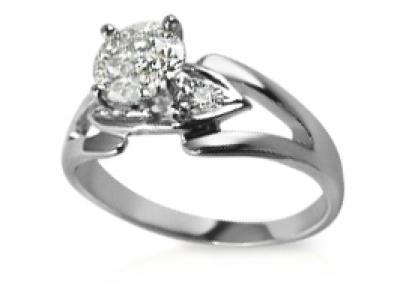 טבעת אירוסין 5000 שקל