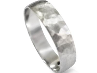 טבעת נישואין דקה