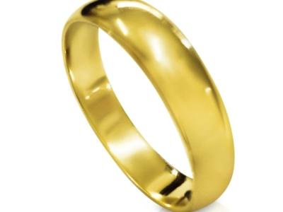 טבעת נישואין קלסית דקה