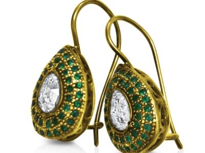 תכשיטים עתיקים עגילים מראה מיוחד
