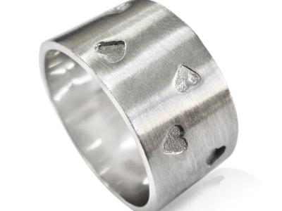 טבעת נישואין עיצוב מיוחד