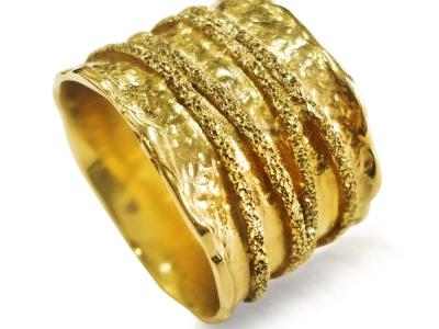 טבעת נישואין זהב רחבה כשרה טבעת נישואין לאישה