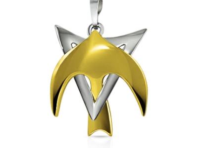 תליון זהב מגן דויד