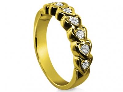 טבעת לבבות