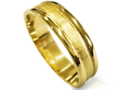 טבעת נישואין דקה קלסית כשרה טבעת נישואין לגבר טבעת נישואין לאישה