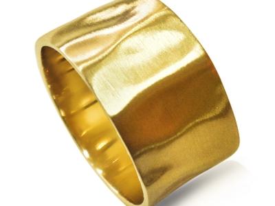 טבעת נישואין כשרה רחבה לאישה