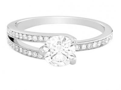 טבעת אירוסין קלאסית