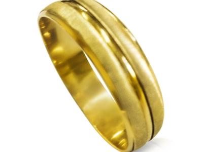 טבעת נישואין קלסית לגבר ולאישה מותאמות