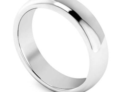 טבעת נישואין חלקה