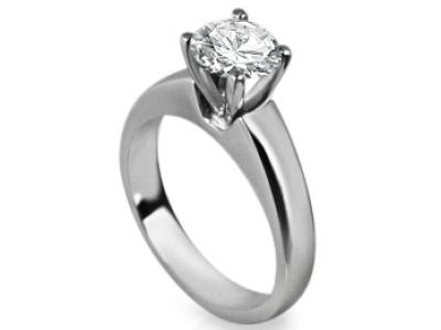 טבעת נישואין קלסית