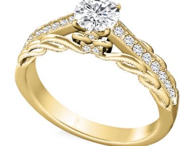 טבעת אירוסים לאישה