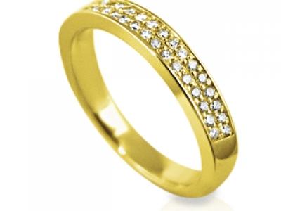 טבעת טניס יהלומים