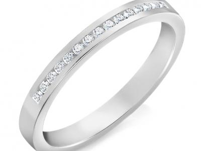 טבעת יהלומים תוספת לטבעת יהלום