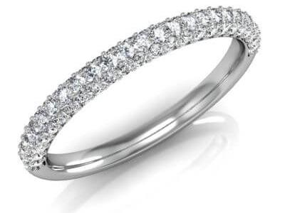 טבעת יהלומים מעוצבת