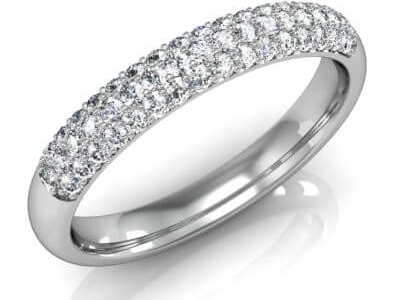 טבעת יהלומים מהבורסה ליהלומים