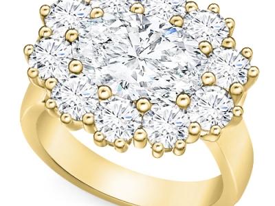 טבעות יהלומים מעוצבות