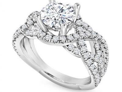 טבעת אירוסין יוקרתית מהבורסה ליהלומים