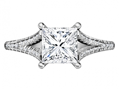 טבעת אירוסין 1 קארט