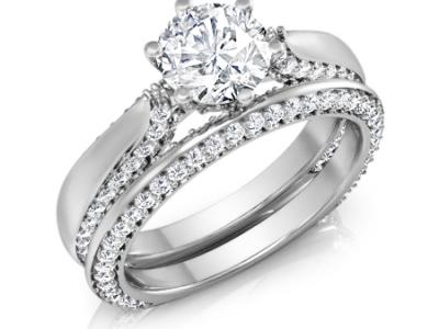 טבעת אירוסין וטבעת נישואין תואמות
