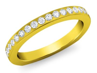 טבעות נישואין משובצות יהלומים