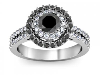 טבעת אירוסין 1 קראט