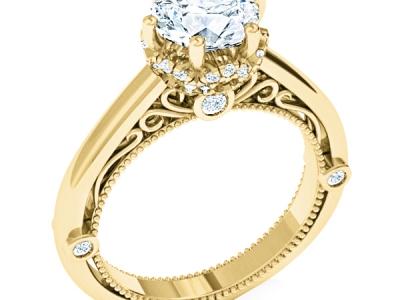 טבעת אירוסין בעיצוב אישי