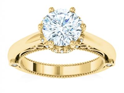טבעת אירוסין לאישה מהבורסה