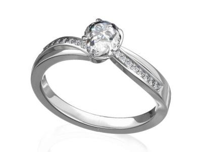 טבעת יהלום מסובבת