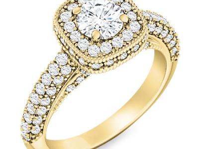 טבעת מיוחדת להצעת נישואין