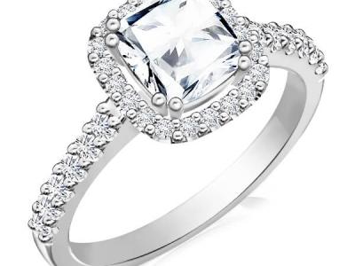 טבעת אירוסין סוליטר לאישה
