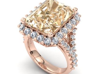 טבעת אבן חן אמרלד ברקת רובי ספיר