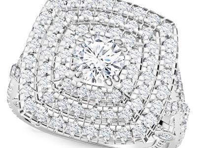טבעת מרובעת גדולה