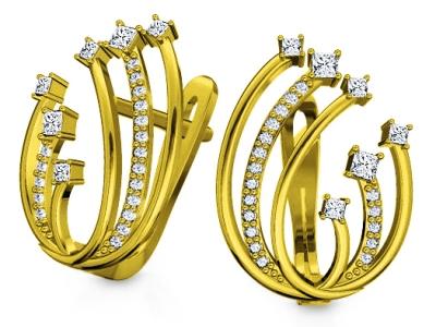 עגילי יהלומים קרטיה