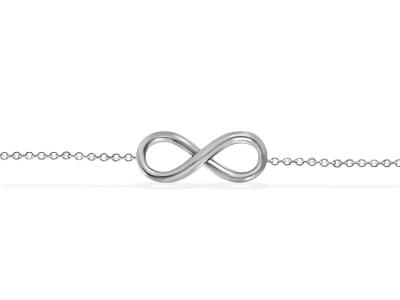 שרשרת לרגל בעיצוב Infinity