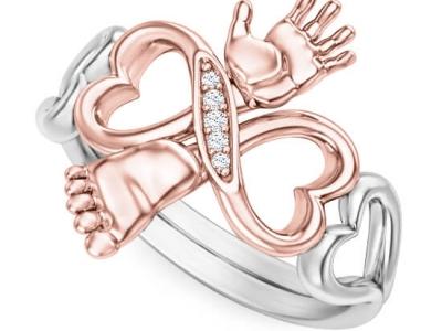 טבעת תינוק מתנה ליולדת