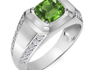 טבעת לגבר אבן חן אמרלד ברקת ספיר רובי