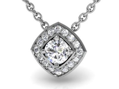 תליון יהלומים