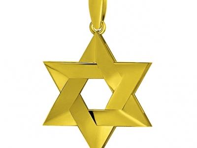תליון זהב ויהלומים