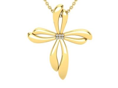 תכשיטים לאישה תליון זהב מעוצב