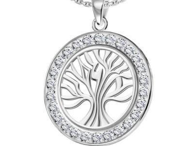 תליון עץ החיים משובץ יהלומים