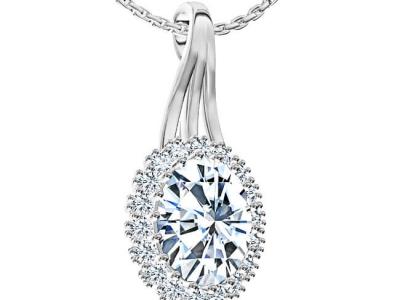 תליון יהלומים לאישה