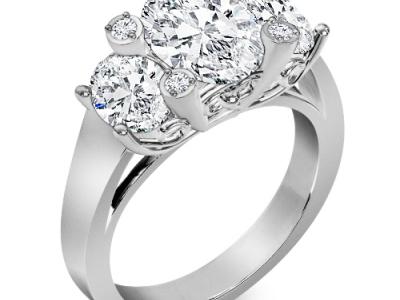 טבעות יהלומים מיוחדות 1 קארט