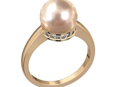 טבעת פנינה בורסה ליהלומים