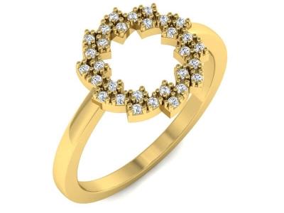 טבעות זהב עדינות לנשים