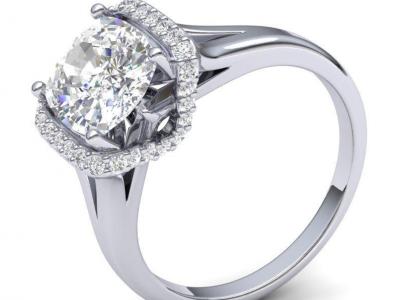 טבעת אירוסין מעוצבת הבורסה ליהלומים