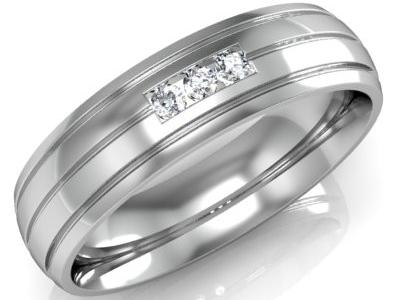 טבעת נישואין לגבר ולאישה