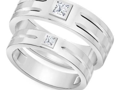 טבעות נישואין תואמות-טבעת נישואין לגבר טבעת נישואין לאישה