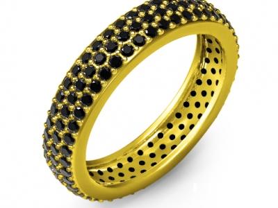 טבעות זהב ויהלומים לגבר